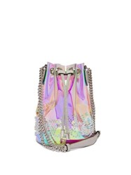 Christian Louboutin Marie Jane Pvc Bucket Bag Clear Multi
