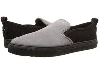 Coach Suede C115 Slip On Sneaker Black Graphite Shoes
