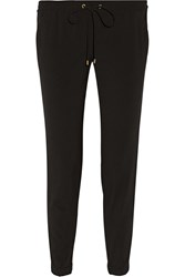 Michael Michael Kors Stretch Jersey Track Pants Black