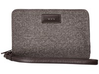 Tumi Belden French Purse Earl Grey Wallet Handbags Gray