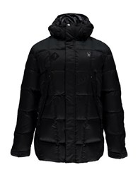 Spyder Diehard Parka Down Jacket Black Polar