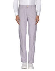 Jaggy Trousers Casual Trousers Men Lilac