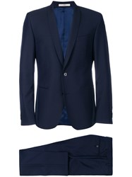 Corneliani Two Piece Suit Blue