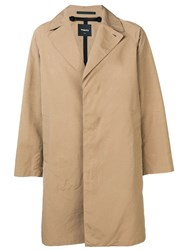Theory Minimal Trench Coat Brown
