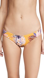 L Space Sandy Bikini Bottoms Desert Palm