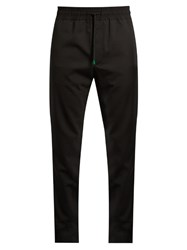 Paul Smith Stretch Wool Track Pants Black