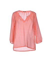 Nocollection Blouses Coral