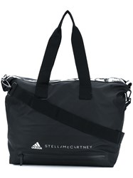 Adidas By Stella Mccartney Studio Logo Bag Black