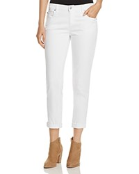Eileen Fisher Petites Boyfriend Jeans In White
