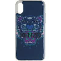 Kenzo Blue And Purple Tiger Iphone X Xs Case