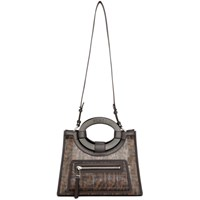 Black And Brown Small 'Forever Fendi' Runaway Tote