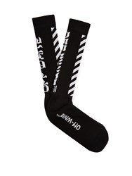 Off White Arrows Socks Black Multi