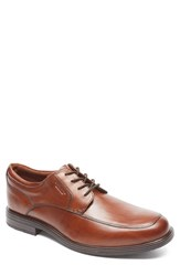 Rockport Men's 'Essential Details Ii' Apron Toe Derby Tan Antique