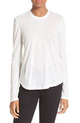A.L.C. Women's Natie Open Back Tee White