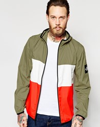 The North Face Jacket With Color Block Moss