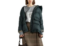 Army By Yves Salomon Fur Trimmed Hooded Puffer Jacket Multi