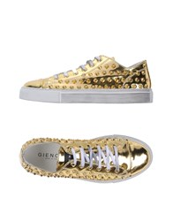 Gienchi Footwear Low Tops And Trainers Women Gold