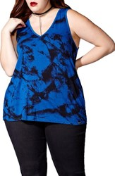 Mblm By Tess Holliday Plus Size Women's Print Tank