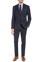 Ted Baker London Jay Trim Fit Solid Wool Suit Navy