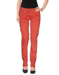 Htc Trousers Casual Trousers Women Red
