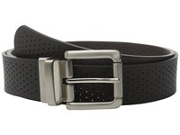 Nike Wide Perforated Reversible Black Brown Women's Belts