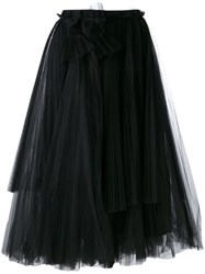 Rochas Shift Skirt Black