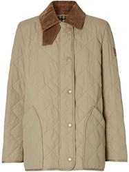 Burberry Diamond Quilted Barn Jacket 60