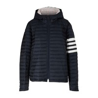 Thom Browne Quilted 4 Bar Jacket Navy
