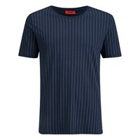 Hugo Men's Dineliner Crew Neck T Shirt Navy