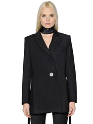 Ellery Double Breasted Wool Coat