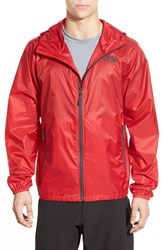 The North Face Men's Cyclone Windwall Raincoat Tnf Red