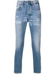 Prps Classic Skinny Fit Jeans Blue