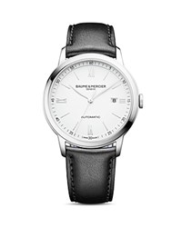 Baume And Mercier Classima Watch 42Mm White Black
