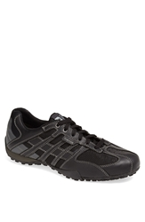 Geox 'Snake 95' Sneaker Men Black Lead