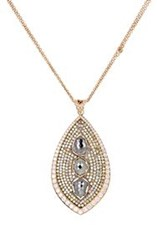 Sara Weinstock Women's Diamond Embellished Taj Pendant Necklace Colorl Colorless