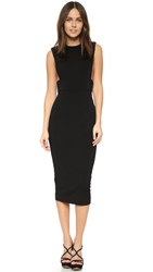 Aq Aq Tanx Midi Dress Black