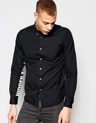 Izzue Shirt With Printed Sleeves Black