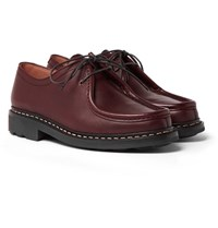 Heschung Thuya Leather Derby Shoes Brown