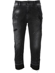 Marcelo Burlon County Of Milan 'Jade' Boyfriend Jeans Black