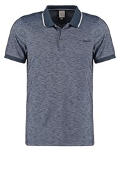 Bench Shadowy Polo Shirt Total Eclipse Dark Blue