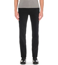 Ralph Lauren Black Label Slim Fit Straight Corduroy Trousers Black