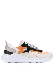 D.A.T.E. Panelled Sneakers White