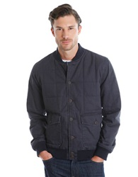 Lucky Brand Seaboard Bomber Jacket True Black