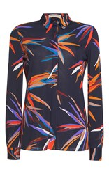 Emilio Pucci Long Sleeve Button Up Shirt Print