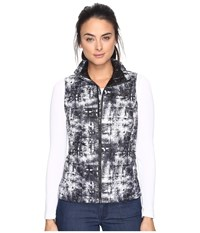 The North Face Thermoball Vest Tnf Black Shibori Print Women's Vest Multi