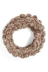 Collection Xiix Textured Knit Cowl Scarf Brown
