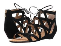Sam Edelman Dawson Black Suede Women's Dress Sandals