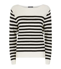 Set Striped Knit Jumper Female