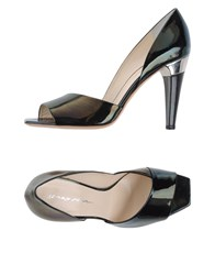 Grey Mer Footwear Courts Women Black