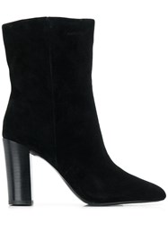 Ash Diamond Ankle Boots Black
